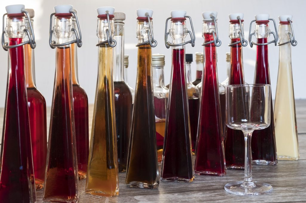 Herstellung von Wein & Likör